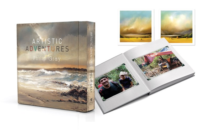 Artistic adventures (Deluxe) by Philip Gray - Limited Edition Book sized 11x11 inches. Available from Whitewall Galleries